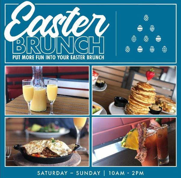 Easter Brunch at PINSTACK