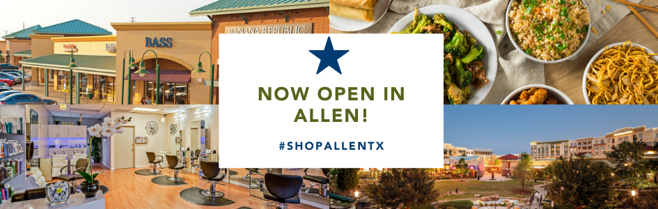 Shop Allen TX Promo - Open in Allen, TX