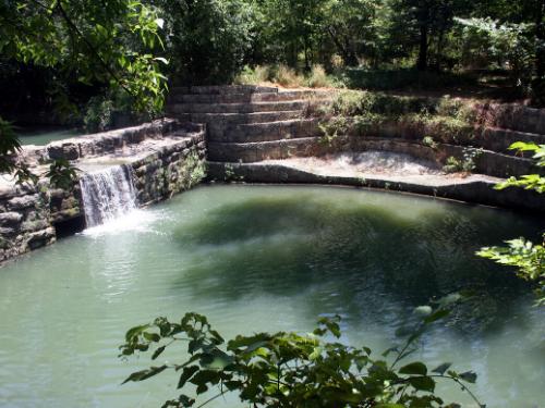 Cottonwood Creek Trail - Old Stone Dam