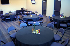 Allen Event Center's meeting rooms can accommodate groups of 35 to 75