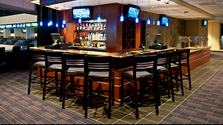 With its scenic views the Jameson Lounge is a great place for your next corporate party