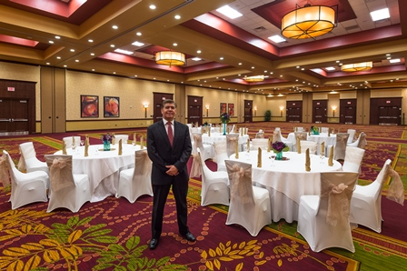 Allen's Courtyard by Marriott boast 15,000 square feet of meeting space adn 228 guest rooms