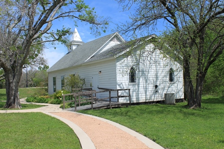 The historic St. Mary Church is fully restored and air conditioned and can accommodate up to 75 people