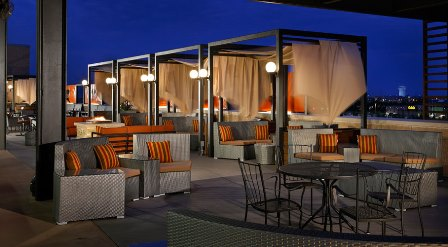 Topgolf in Allen can accommodate up to 200 people in their Signature Room, Rooftop Terrace, Lower Lounge and Garden Patio