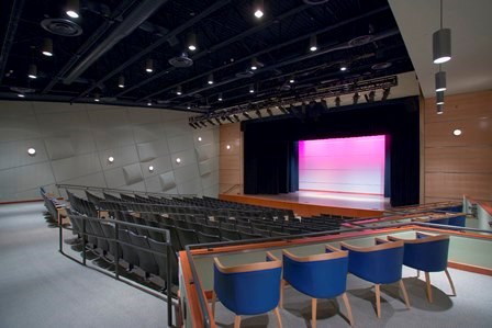 The Civic Auditorium at Allen Public Library is fully equipped with audio visual equipment
