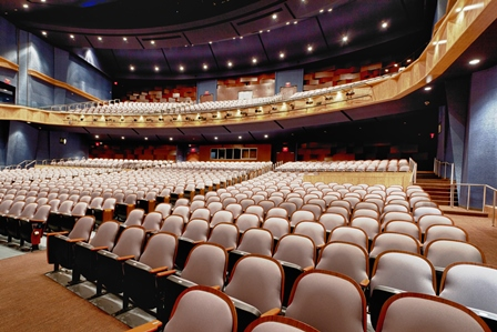 The Performing Arts Center at Allen High School is a 1,500 seat state of the art facility