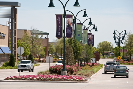 The Village at Allen is one of the newest and biggest shopping, dining and entertainment destination