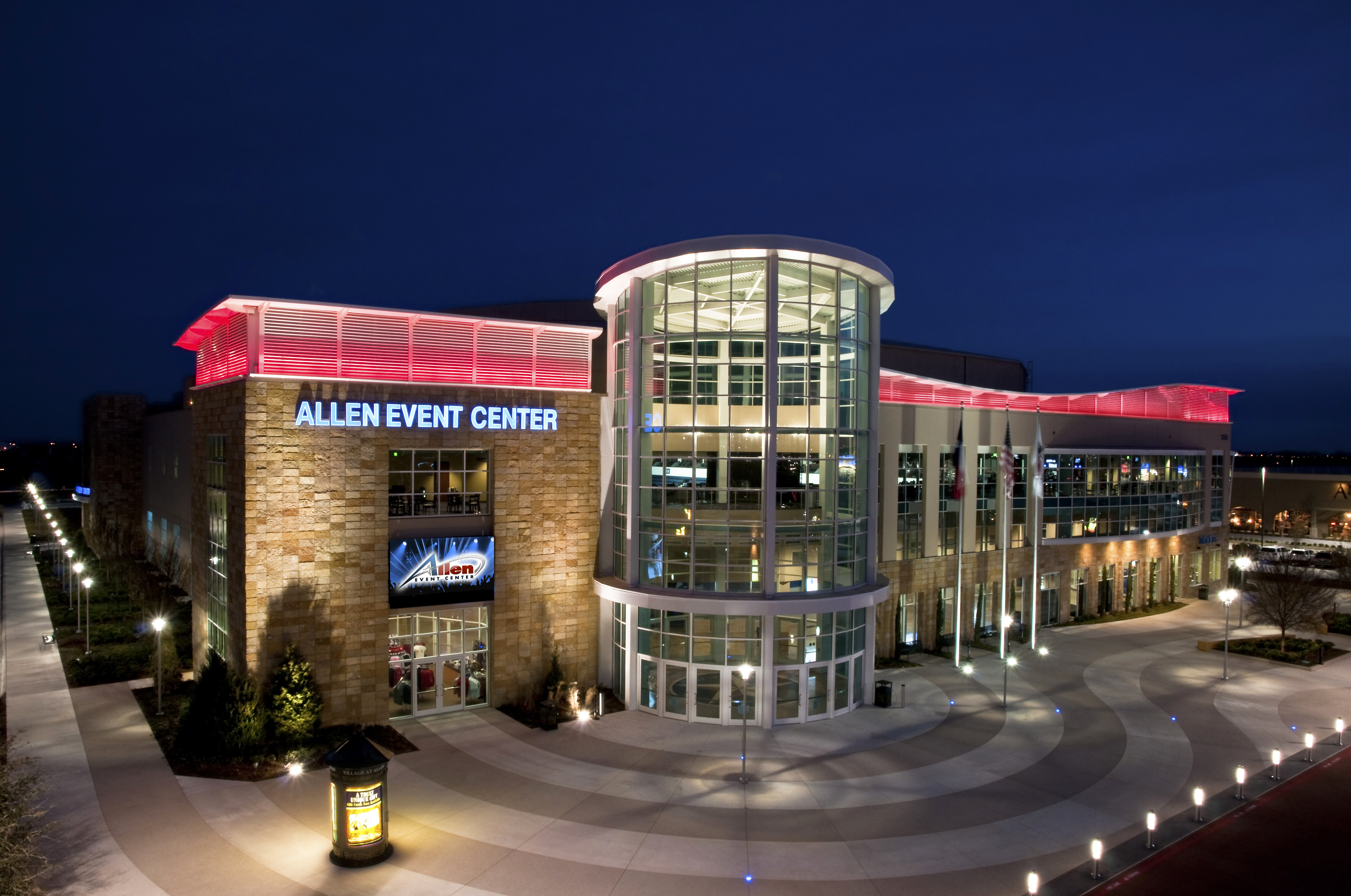 Allen is home to three professional sports teams, hosts popular musical acts and has a variety of en
