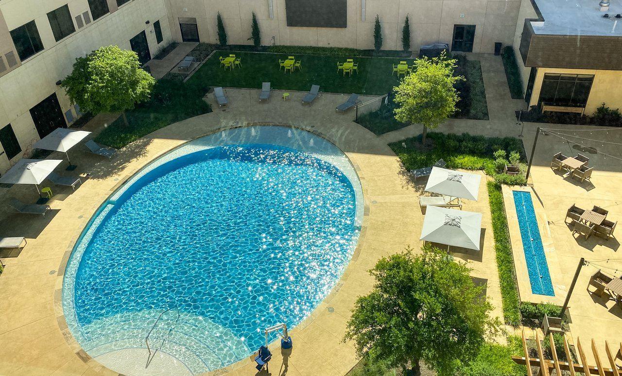 Marriott Dallas Allen Hotel & Watters Creek Convention Center Pool Area