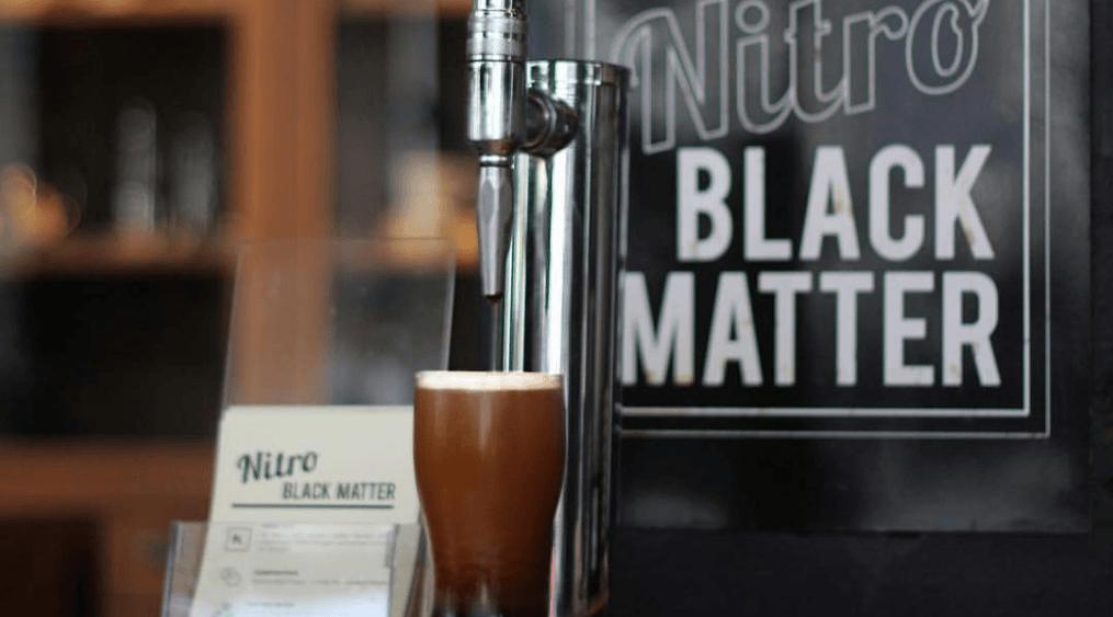 Nitro Black Matter at Armor Coffee, Allen, TX