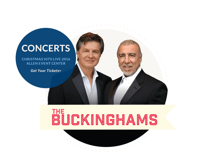 Christmas Hits Live Buckinghams