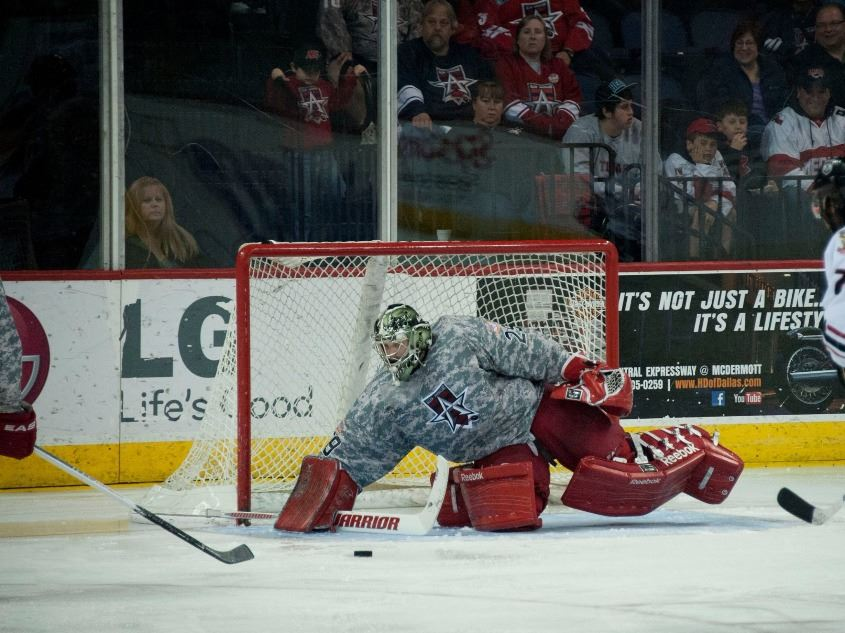 The Allen Americans, the San Jose Sharks' Eastern Central Hockey League affiliate, play hard and