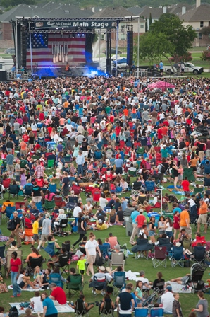 Market Street Allen USA Celebration is one of the largest and most spectacular Independence Day events in North Texas.