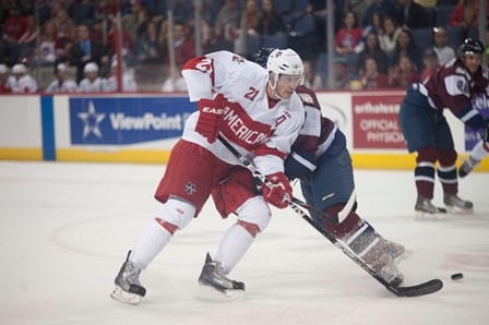 The Allen Americans, the San Jose Sharks' ECHL affiliate, have home ice at Allen Event Center in The Village at Allen. The Americans have enjoyed many successes in Allen, including bringing home the Ray Miron Presidents' Cup in both the 2012-2013 and the