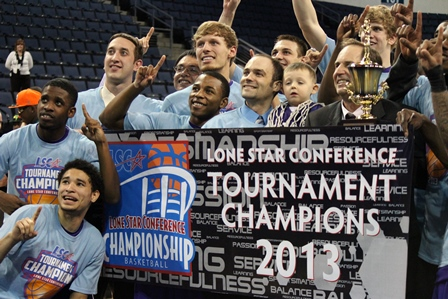 The Lone Star Conference Men's and Women's Basketball Championship has been held at Allen Event Center since March 2012. The championship spans four days of competition as part of National Collegiate Athletic Association (NCAA) division II basketball.