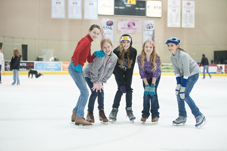 Allen Community Ice Rink is a full-size ice surface attached to Allen Event Center that offers various programs and open skate times.