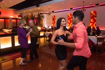 In addition to a variety of tasty cuisines, many of Allen's more than 200 restaurants offer music and dancing.