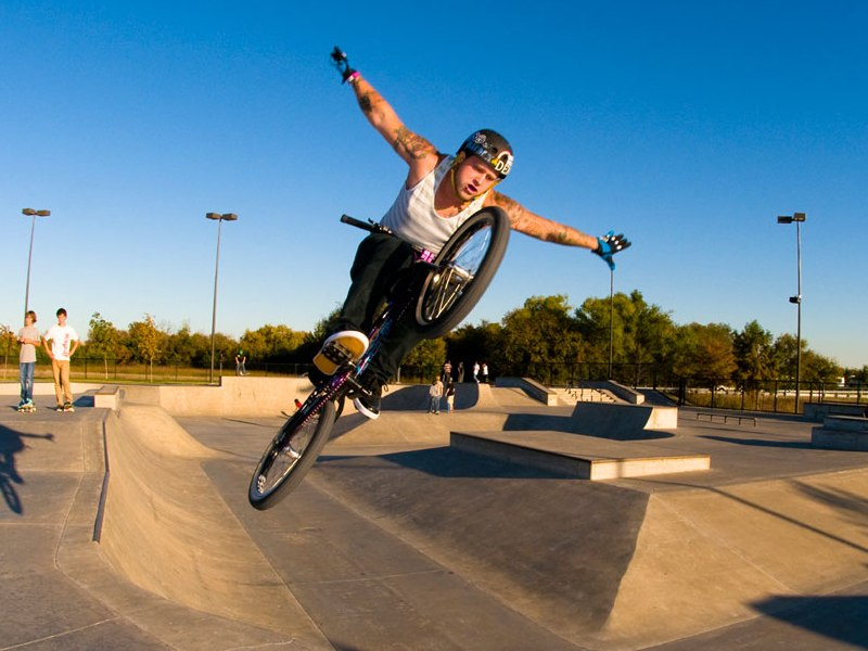 The Edge Skate Park is the largest outdoor facility of its kind in Texas.