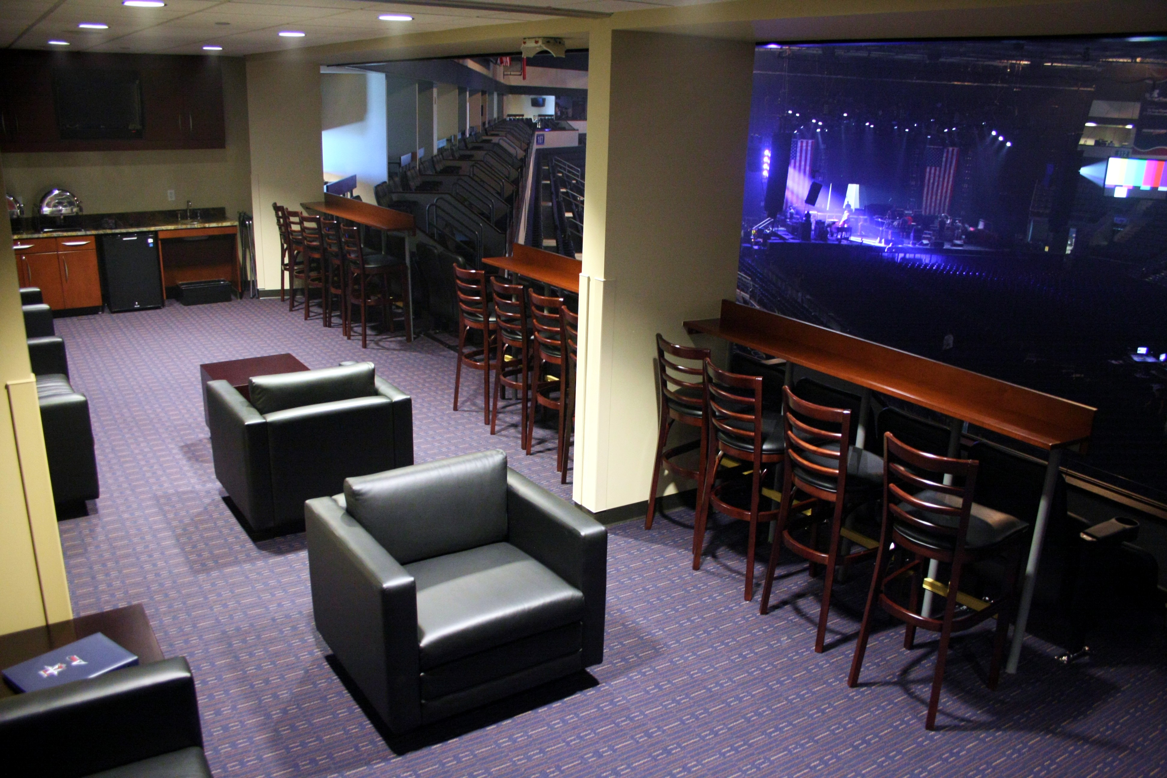 Treat your team (or your clients) to a fun-filled night out in one of Allen Event Center's premium-level suites during a sporting event or concert