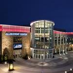 Host to top-name concerts and home to three professional sports team, Allen Event Center is also a great place to host your next convention, meeting or team building event
