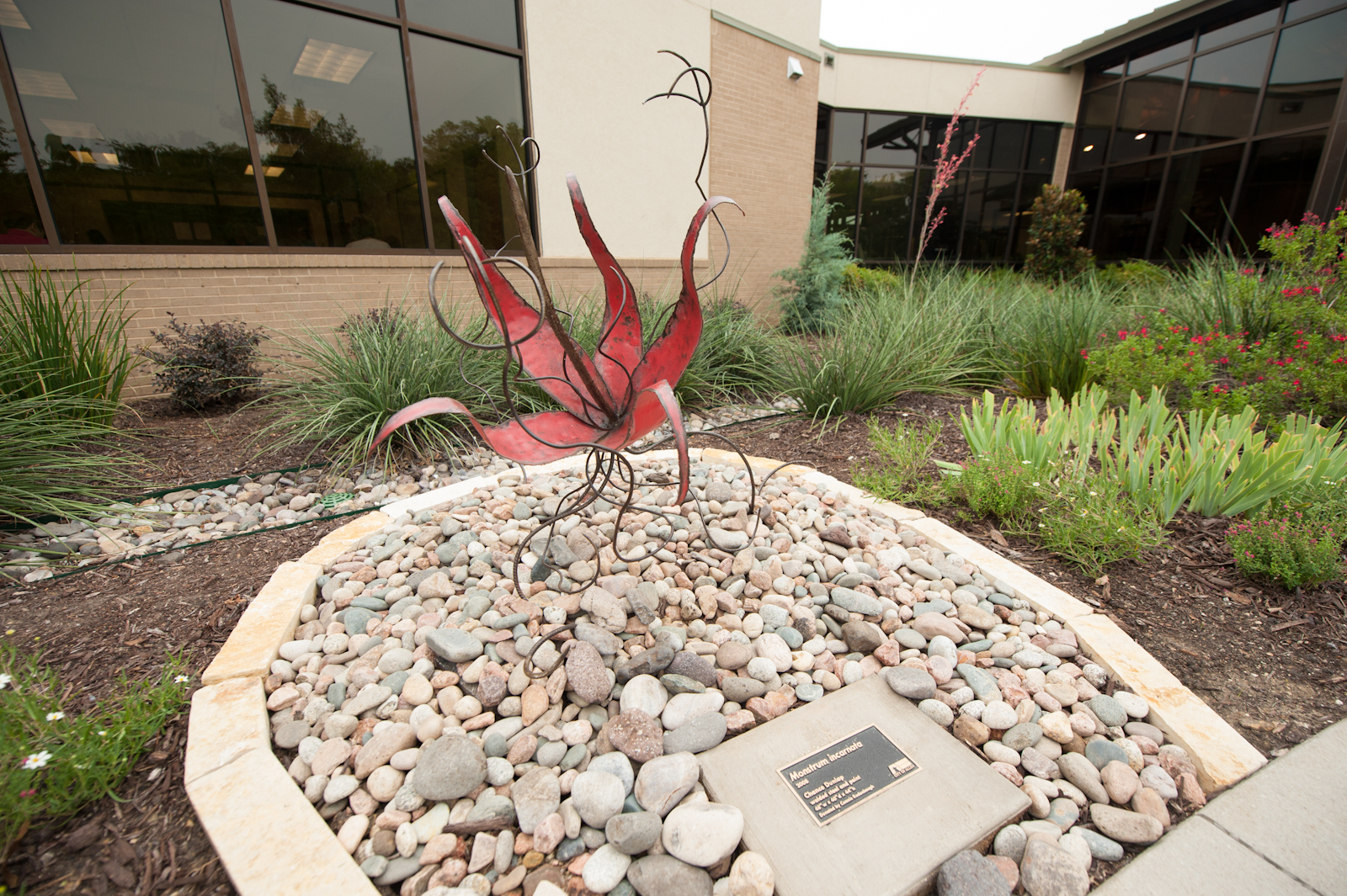 Monstrum Incarnata, by Chance Dunlap, is a part of Allen's growing public art collection