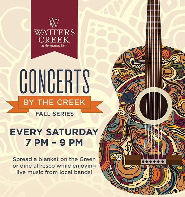 fall concerts by the creek
