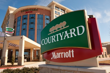Located next to Allen Event Center, Courtyard by Marriott Dallas Allen at the John Q. Hammons Center offers 228 guest rooms and more than 15,000 sq. ft. of flexible meeting space.